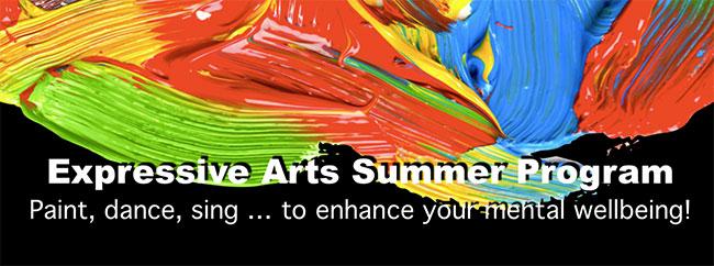 NAMI Mercer Expressive Arts Summer Program