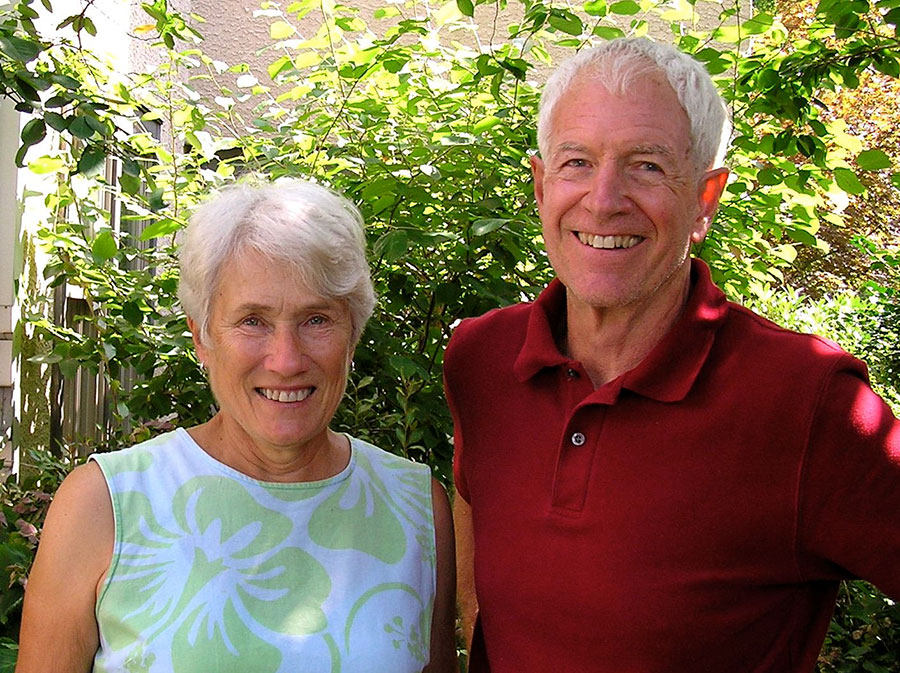 William and Betty Wolfe, Pillar Awardees 2018